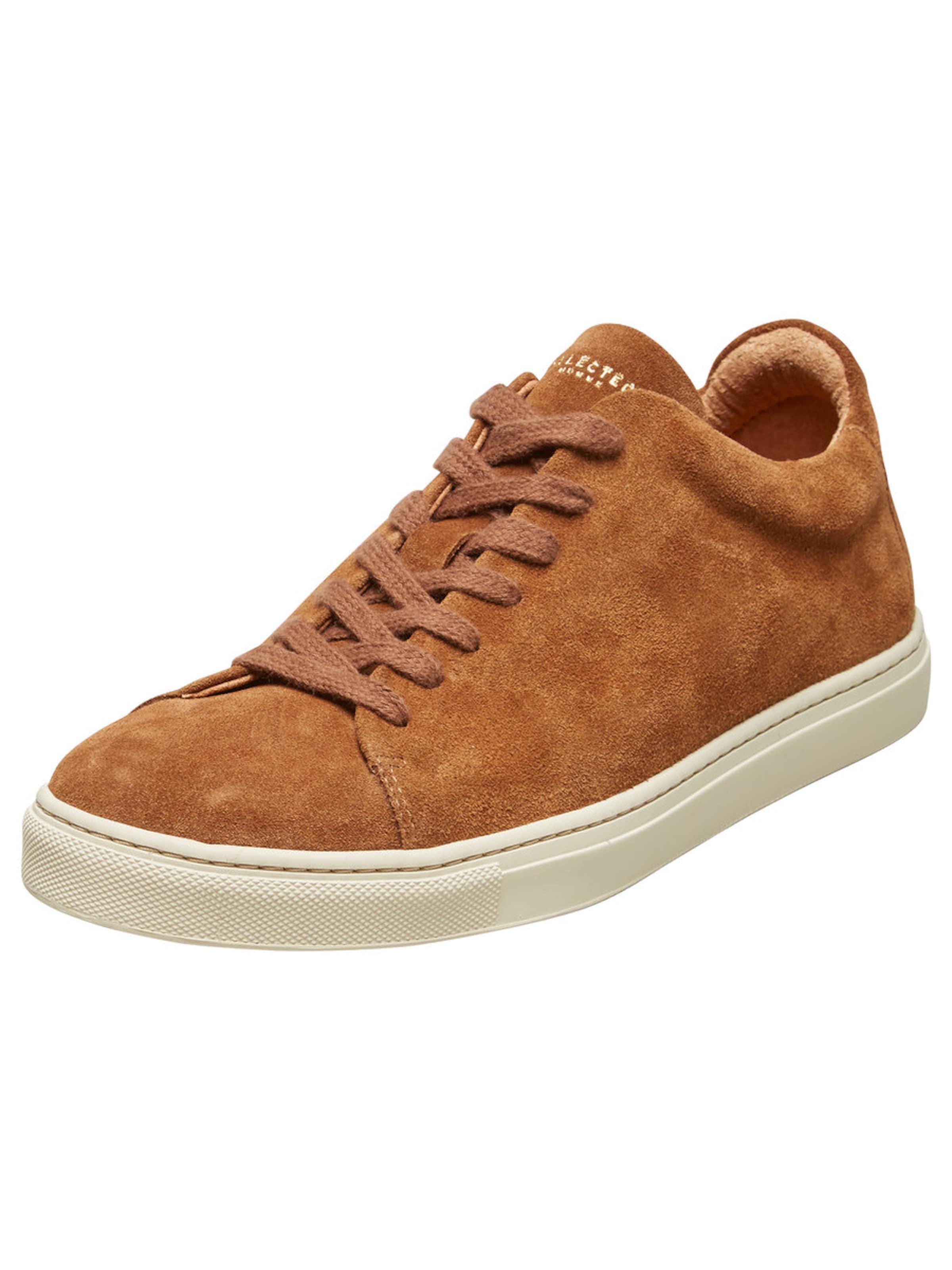 SELECTED HOMME Wildleder Sneaker Günstige und langlebige Schuhe