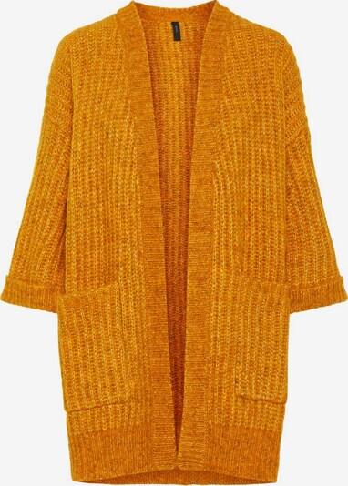 Y.A.S Cardigan 'YASSUNDAY KNIT CARDIGAN' en jaune d'or, Vue avec produit