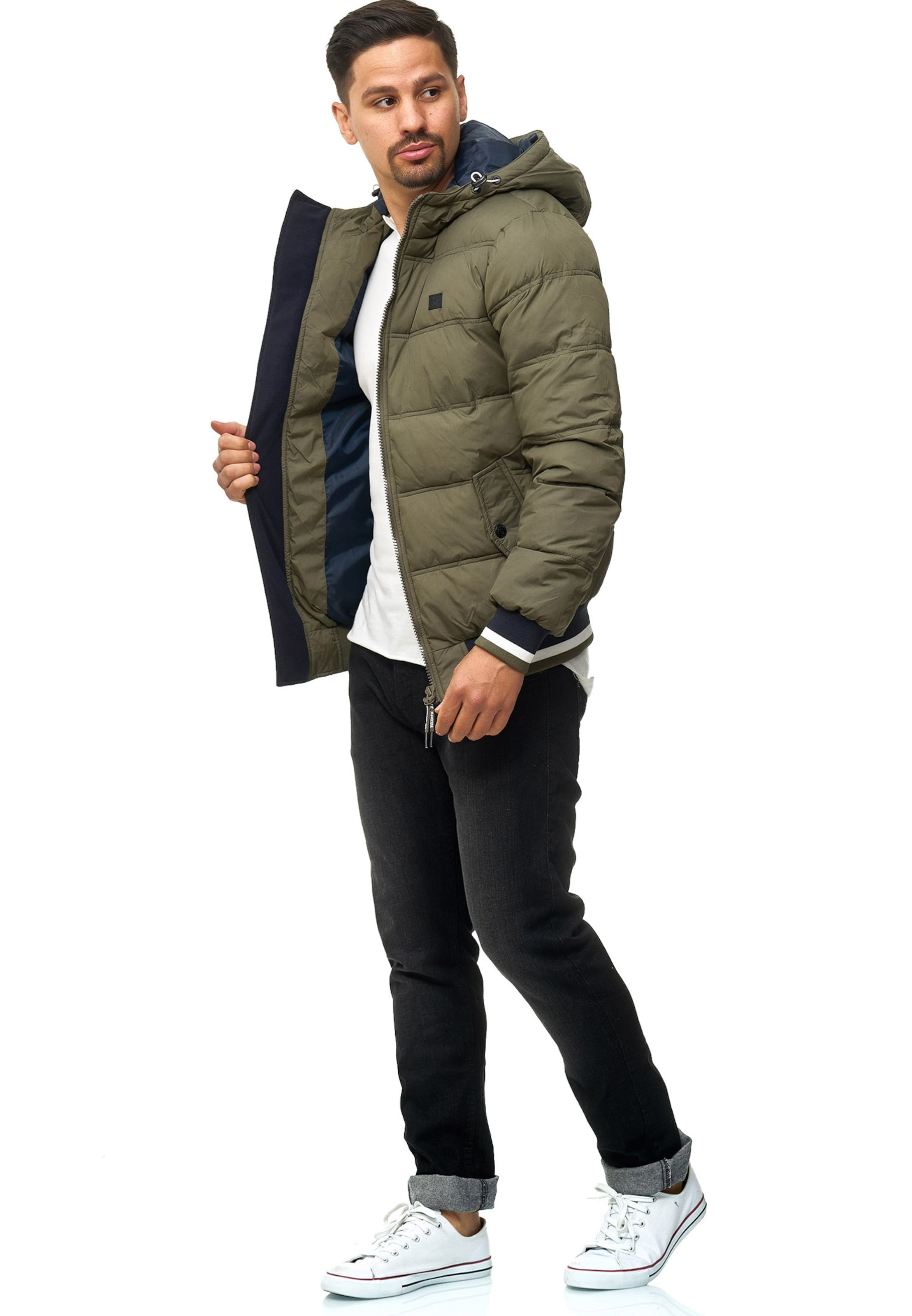 In Indicode Blouson Oliv Jeans 'bacon' xBeEQdWrCo