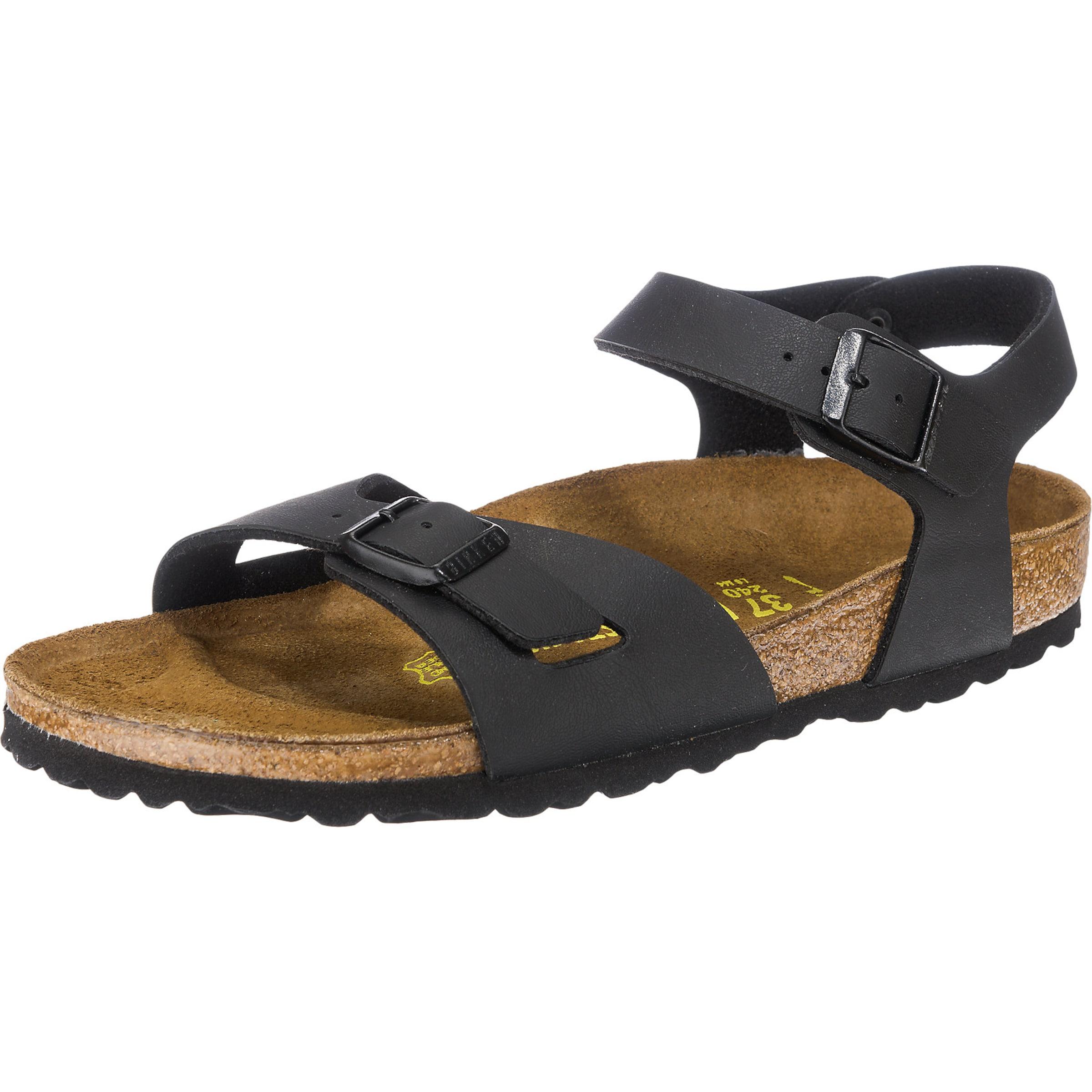 Haltbare Mode billige Schuhe BIRKENSTOCK | 'Rio' schmal Sandaletten Schuhe Gut getragene Schuhe
