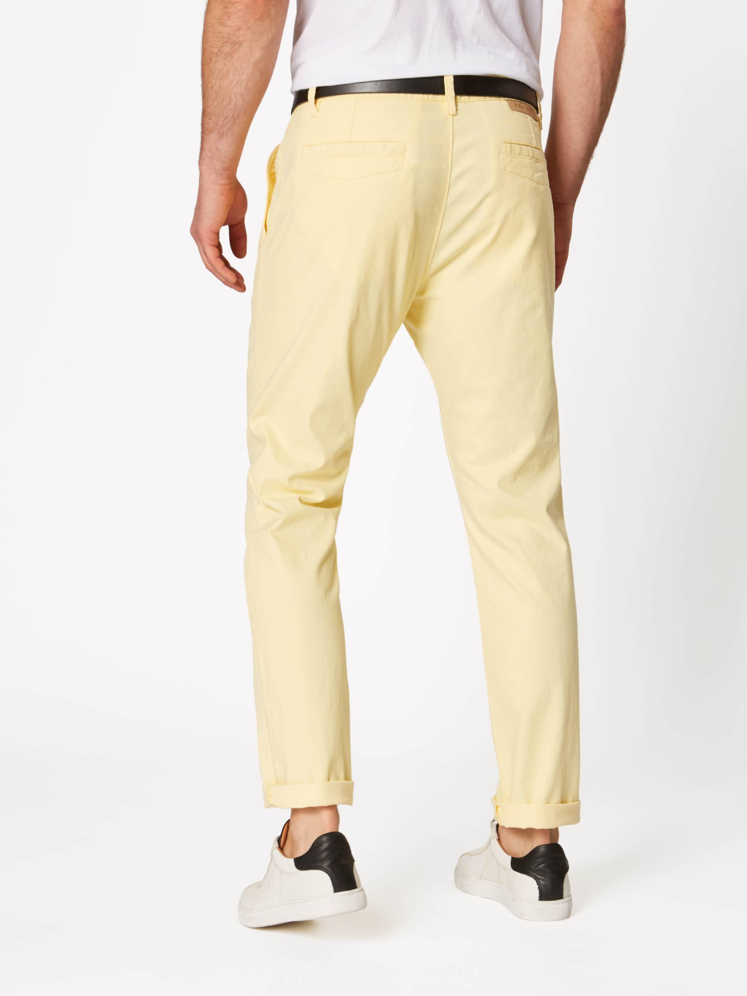 Chino Jaune En 'str Belt' Pantalon Review N8mnw0