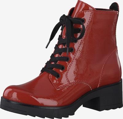 MARCO TOZZI Stiefelette in rot / schwarz, Produktansicht