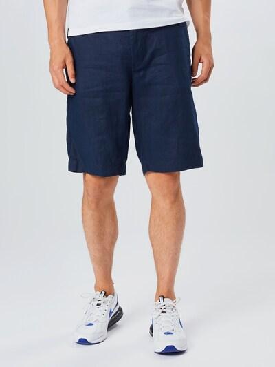 UNITED COLORS OF BENETTON Spodnie w kolorze ciemny niebieskim: Widok z przodu