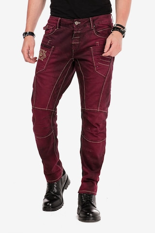 CIPO & BAXX Jeans in Rot