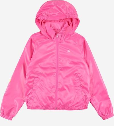 Calvin Klein Jeans Kevad-sügisjope 'PACKABLE HERO LOGO JACKET' roosa, Tootevaade