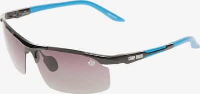 CAMP DAVID Sonnenbrille in türkis / schwarz, Produktansicht