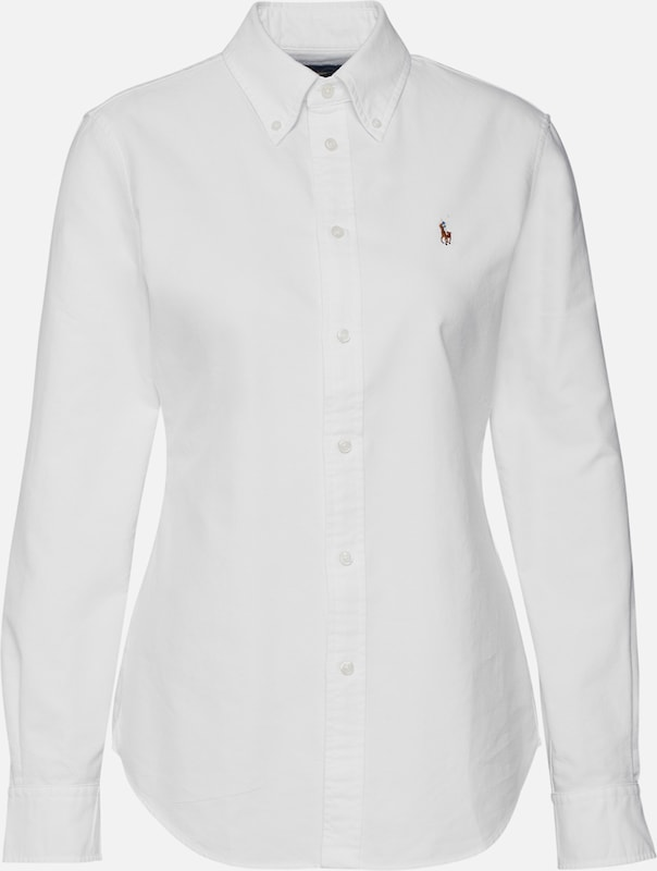 POLO RALPH LAUREN Bluse 'HEIDI' in rosa | ABOUT YOU