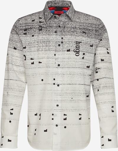 HUGO Košile 'Emero' - černá / bílá, Produkt