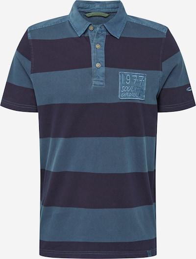 CAMEL ACTIVE T-Shirt en bleu / bleu foncé, Vue avec produit