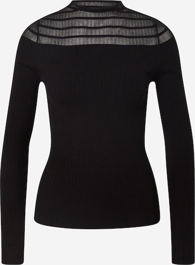 Fashion Union Pull-over 'MIKE' en noir, Vue avec produit