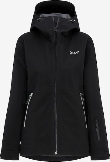 PYUA Outdoorjas 'Hyle' in de kleur Zwart, Productweergave