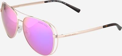 Michael Kors Sonnenbrille mit verspiegelten Gläsern in lila / rosé, Produktansicht