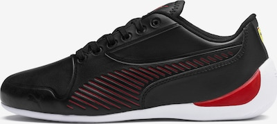 PUMA Sneaker 'Ferrari Drift Cat 7S Ultra Youth' in feuerrot / schwarz: Frontalansicht