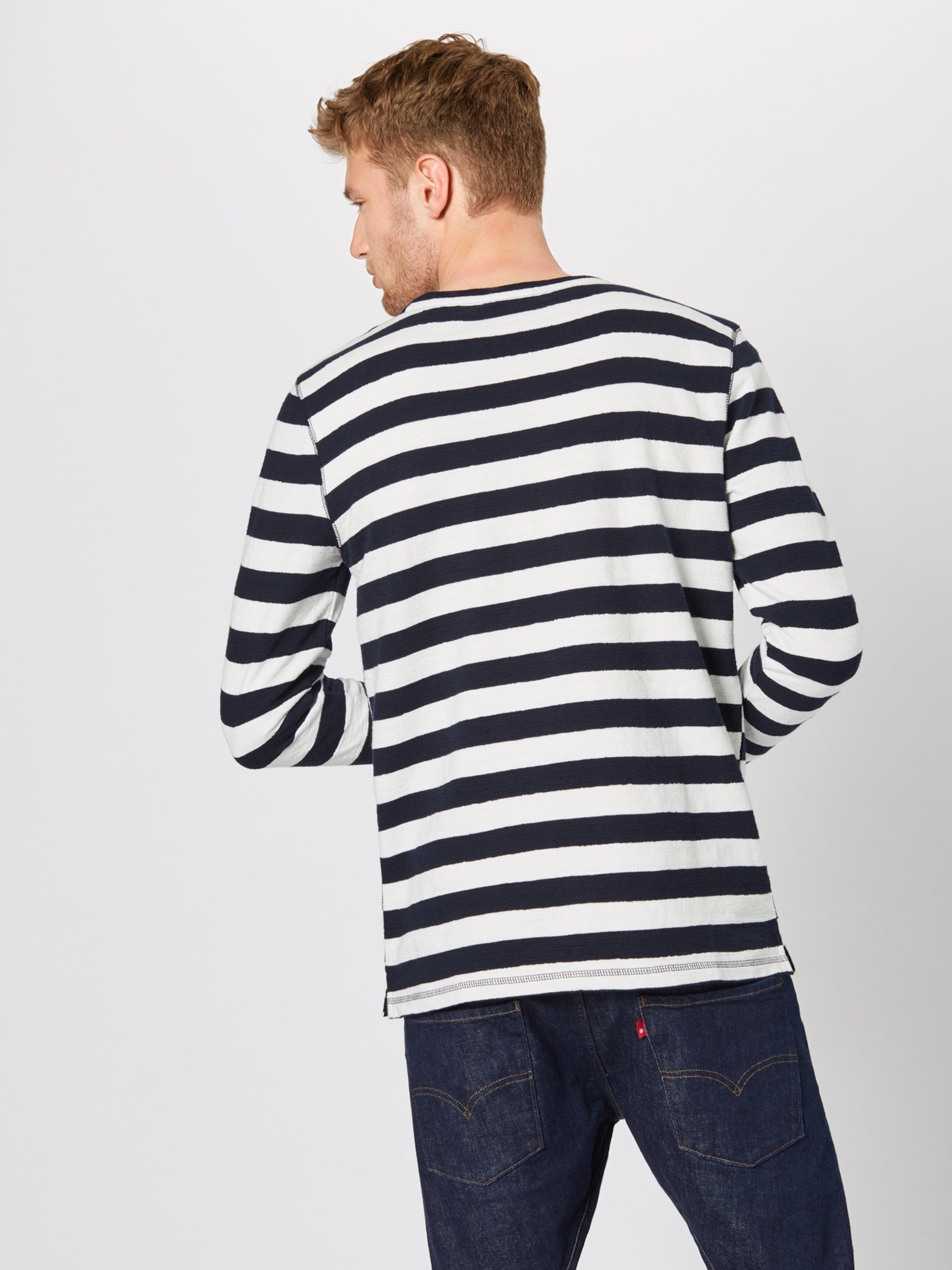 SchwarzWeiß Sweatshirt Marc O'polo In Denim Y7f6ybg