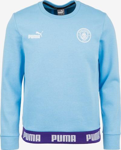 PUMA Sweatshirt 'Manchester City FtblCulture' in hellblau, Produktansicht