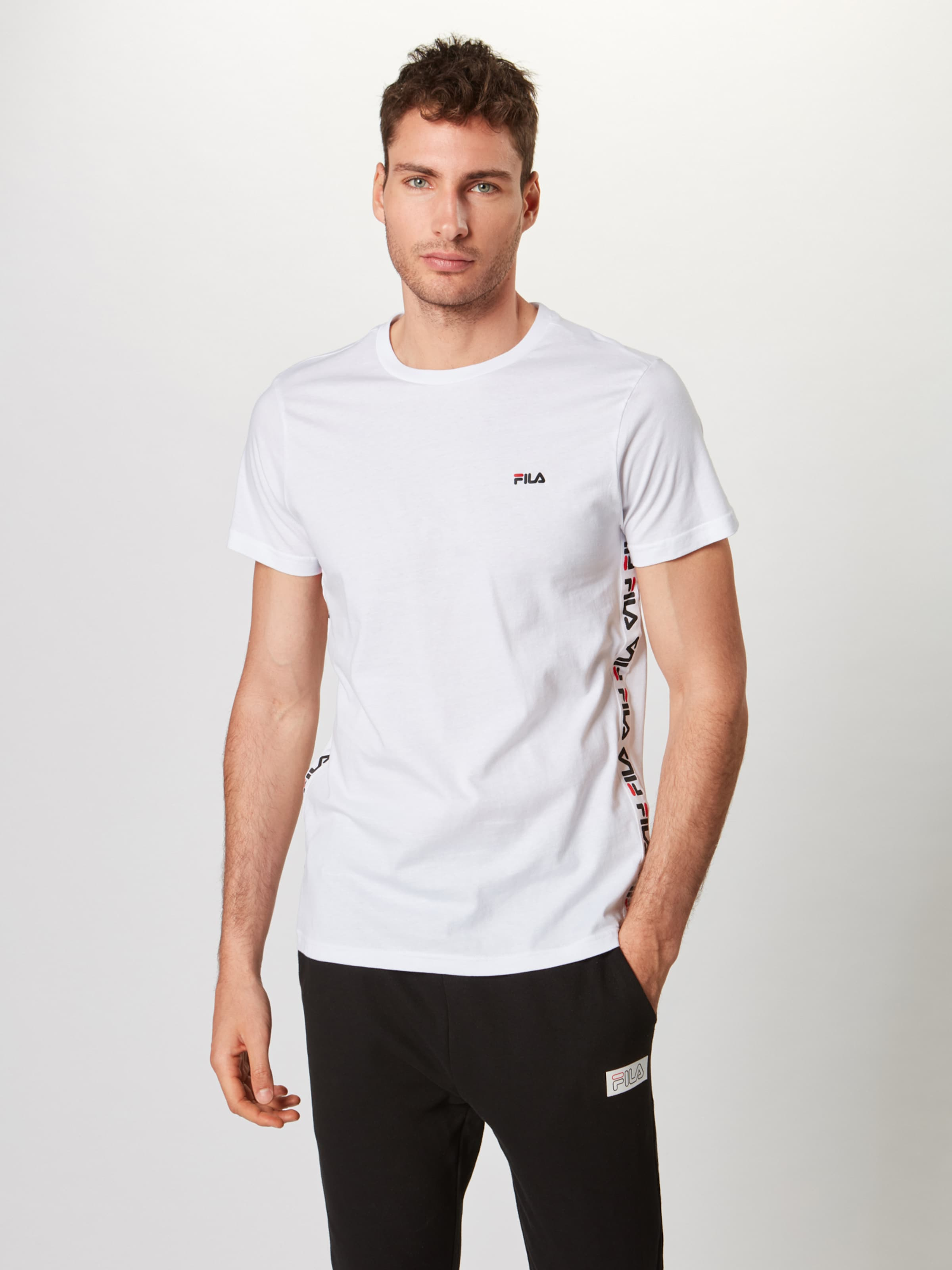 Blanc Tee T shirt 'talan Ss' En Fila IYf7ym6bgv