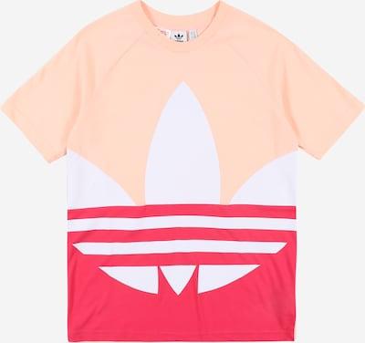 ADIDAS ORIGINALS T-Shirt 'Big Trefoil' in pink / pastellpink / weiß, Produktansicht
