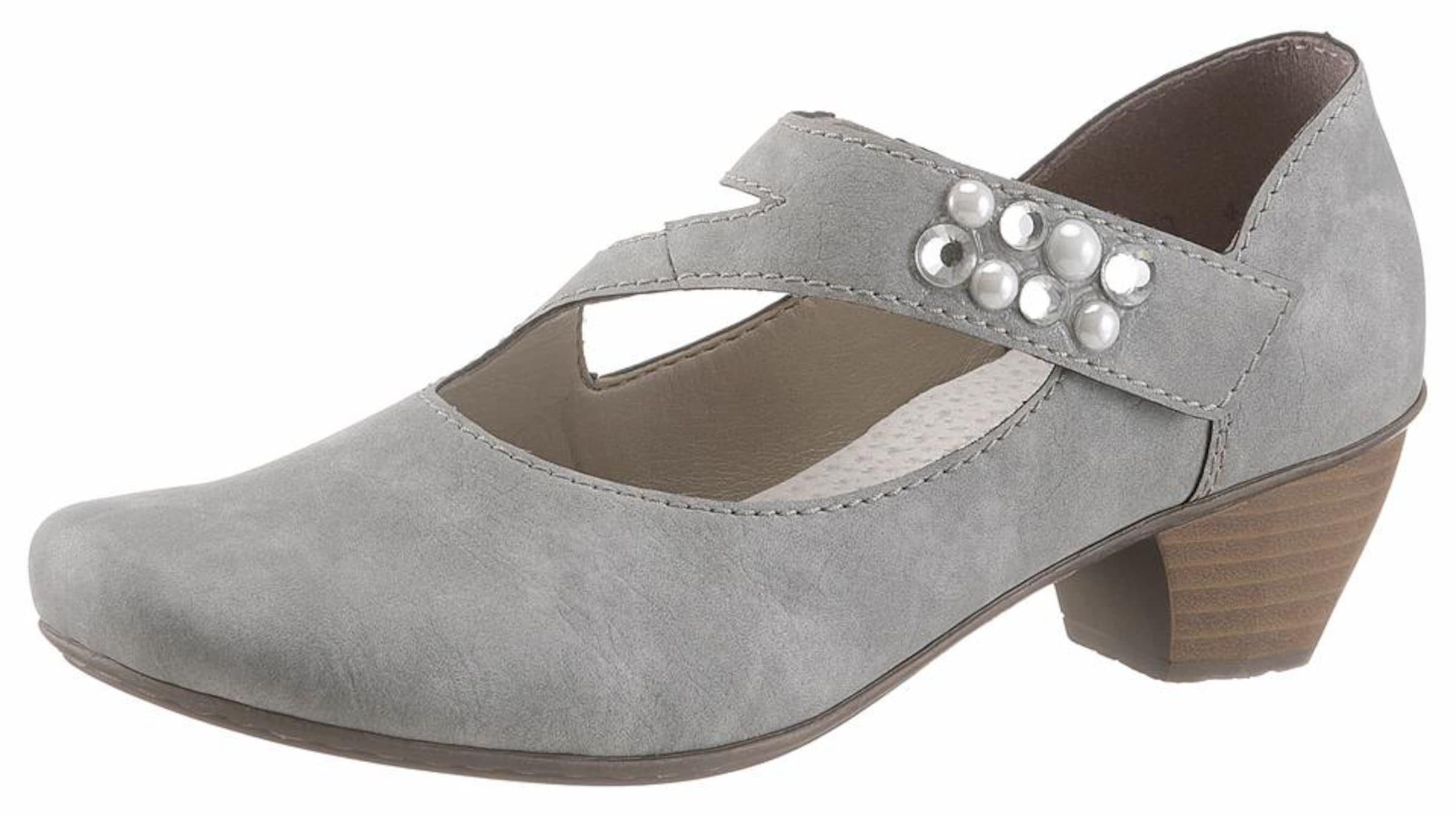 Haltbare Mode billige Schuhe RIEKER | Spangenpump Schuhe Gut getragene Schuhe