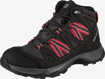 SALOMON Trekkingstiefel in anthrazit / hellrot, Produktansicht