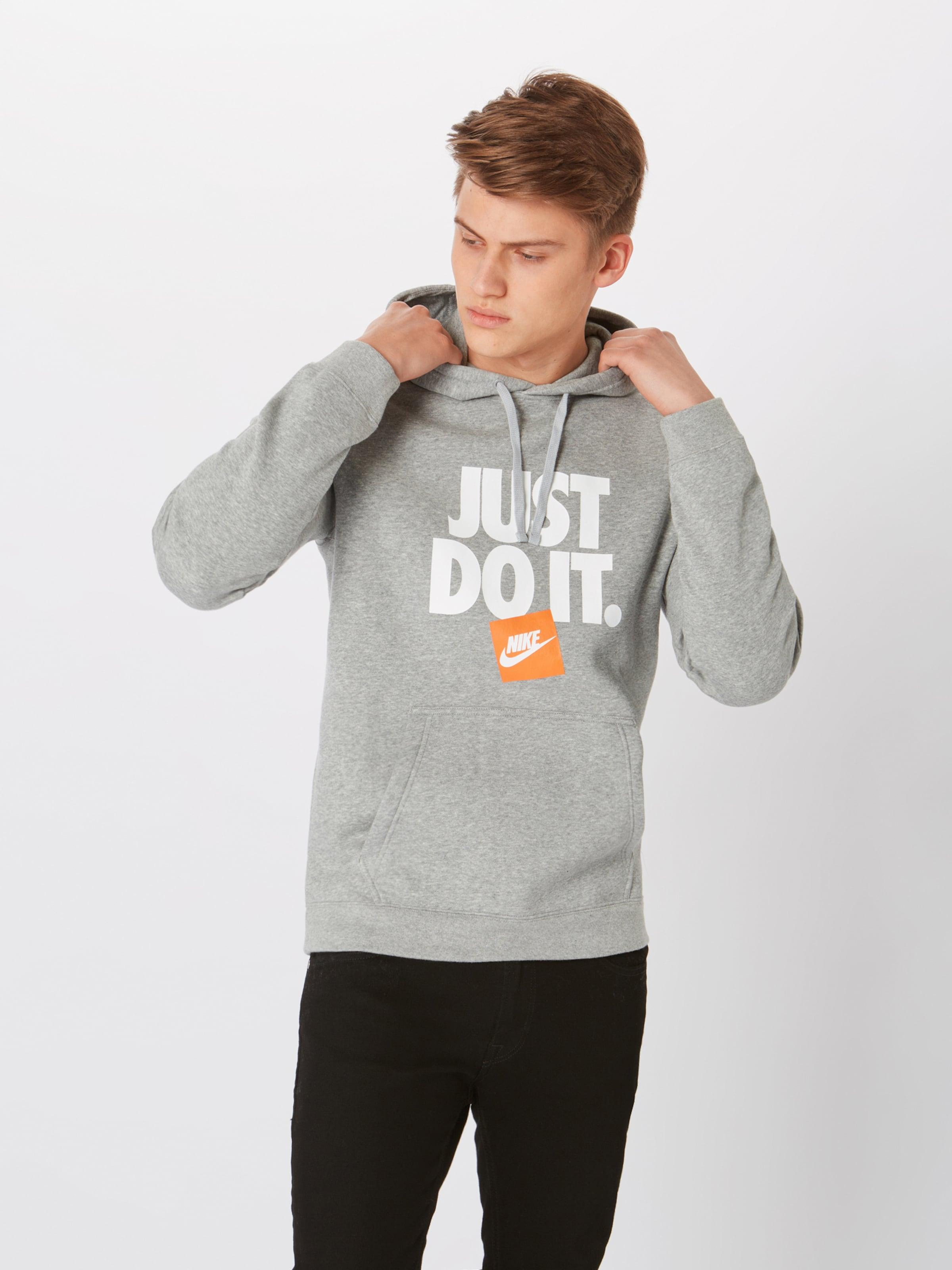 In Pullover Sportswear GraumeliertOrange Nike Weiß e2I9DHYWE