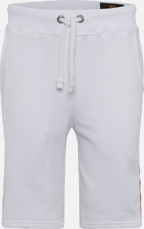 ALPHA INDUSTRIES Short in weiß, Produktansicht