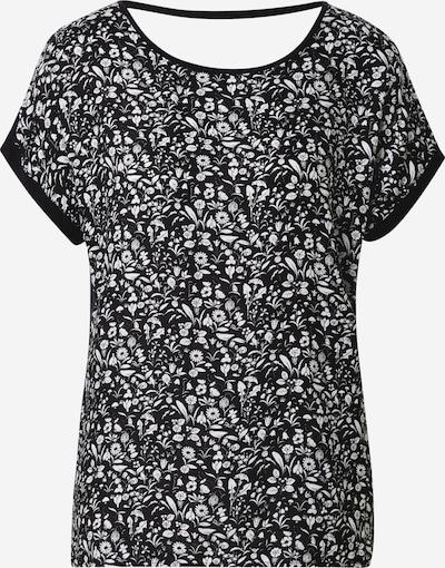 ESPRIT Shirt 'AOP AW Tee' in schwarz / weiß, Produktansicht