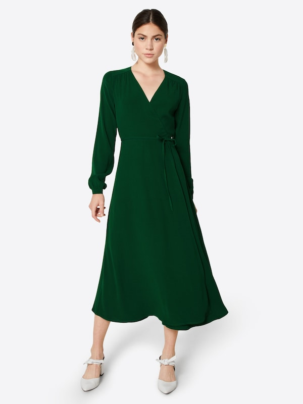 Oak Midi' Sapin Wrap Dress Ivyamp; Robe En 'long Sleeve 0k8nOPwX
