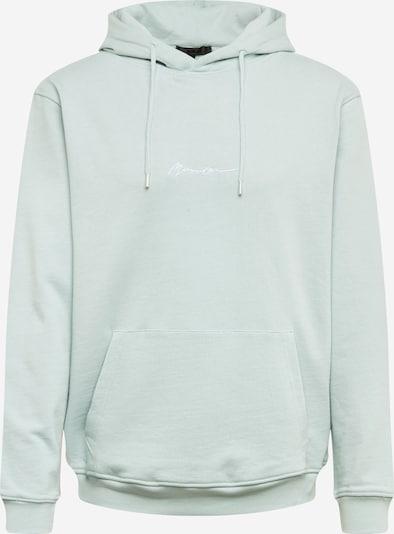 Mennace Sweatshirt 'ESSENTIAL' in mint, Produktansicht