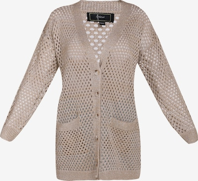 faina Strickjacke in beige, Produktansicht