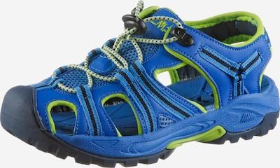 CMP Sandals 'AquarII' in Blue / Lime, Item view