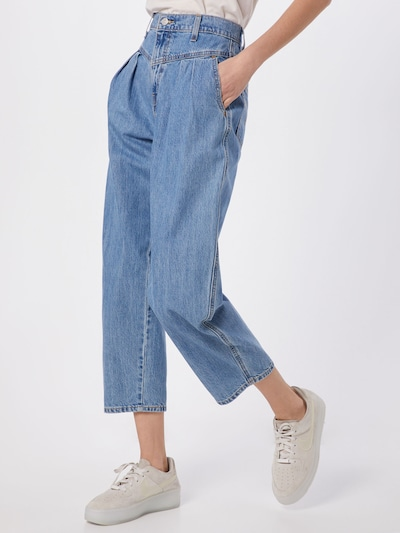 LEVI'S Jeans '80's BALLOON LEG' in blue denim, Modelansicht