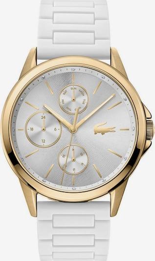 LACOSTE Uhr in gold / weiß, Produktansicht
