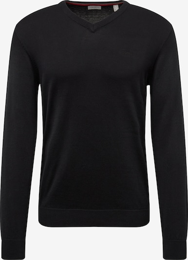 ESPRIT Pullover 'OCS Co V-nk' in schwarz, Produktansicht