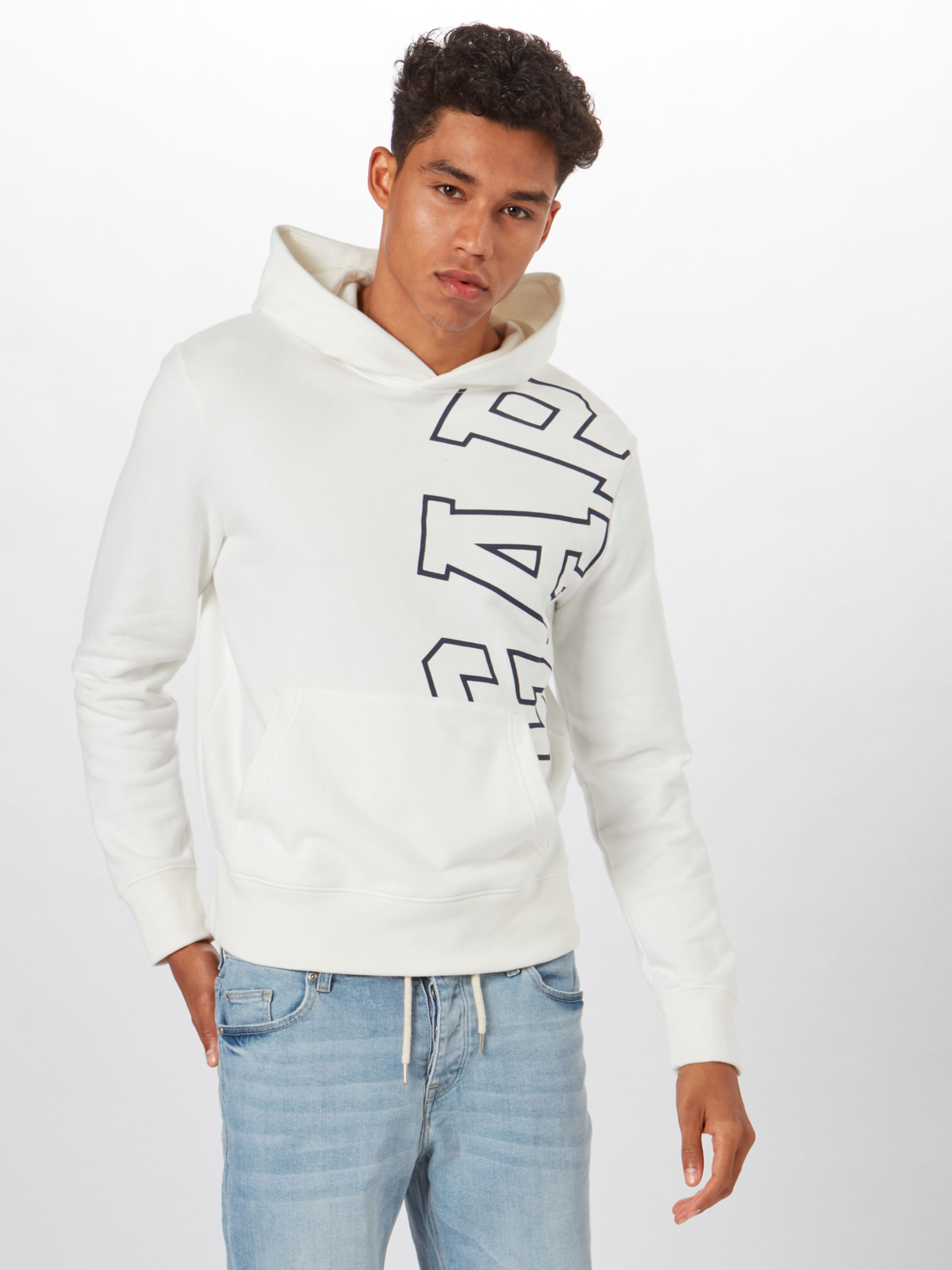 'exploded Arch' NavyOffwhite Gap Sweatshirt In IbgyfY76v