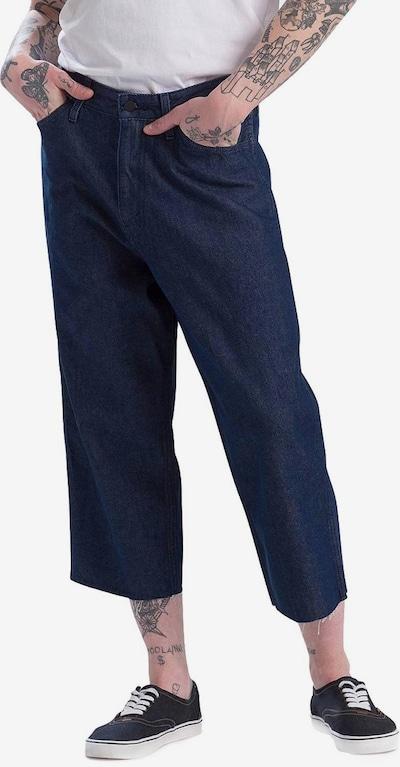 LEVI'S Jeans ' Line 8 Wide Cropped ' in blau, Modelansicht