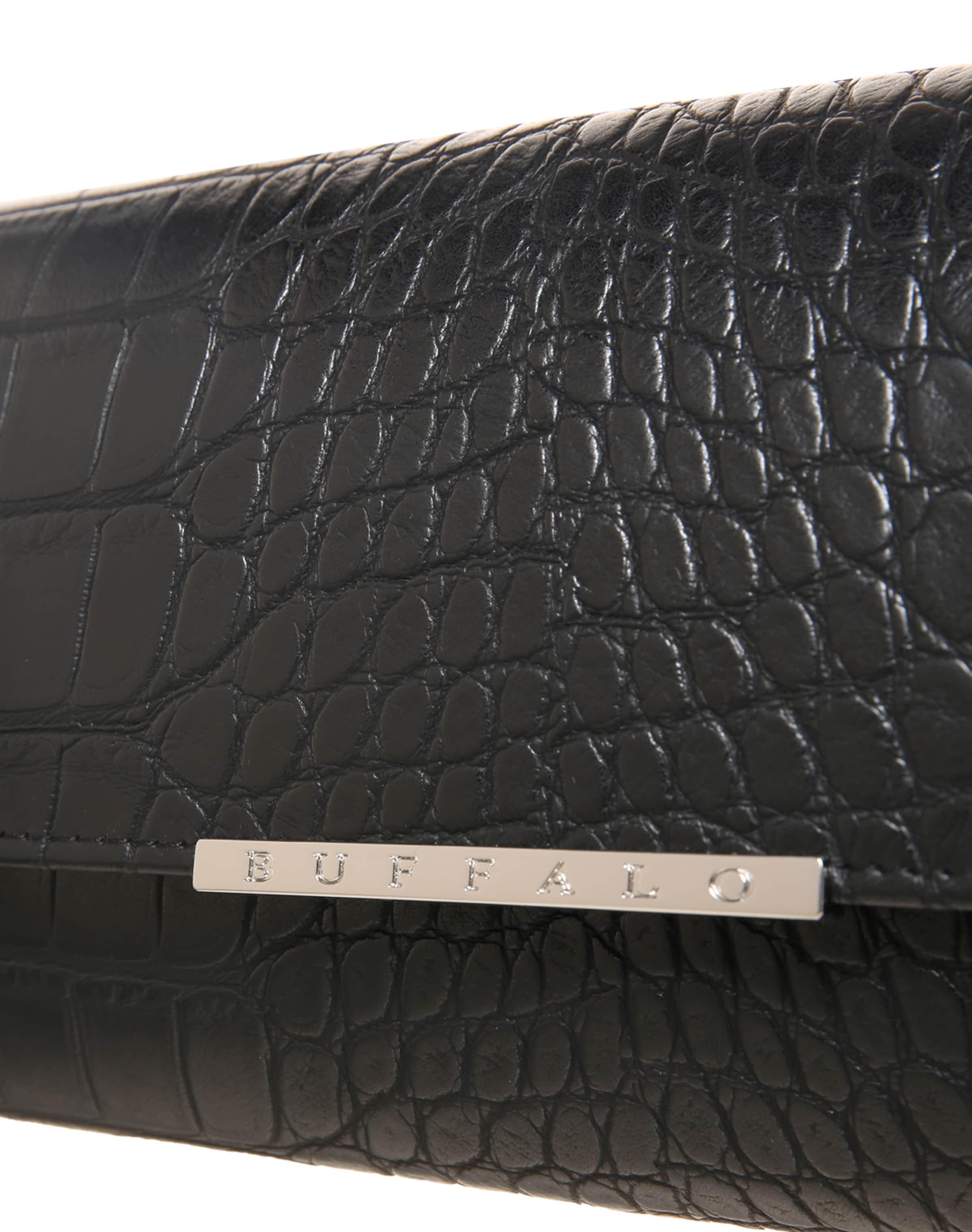 Rabatt Günstig Online Auslasszwischenraum Store BUFFALO Clutch in Lackleder-Optik Rabatt Mit Paypal Aaa Qualität j2mTn