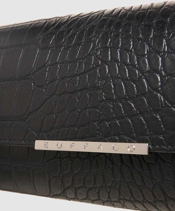BUFFALO Clutch in Lackleder-Optik