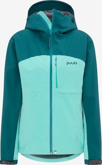 PYUA Skijacke 'Gorge' in blau / aqua / petrol, Produktansicht