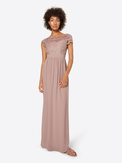 TFNC Společenské šaty 'ABILINIA' - růže, Model/ka