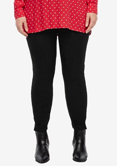 TRIANGLE Jerseyhose in schwarz, Modelansicht