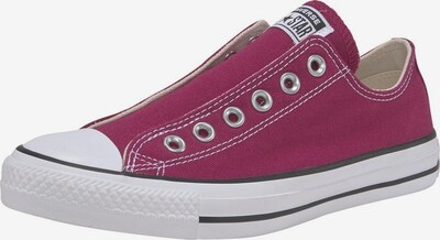 CONVERSE Sneaker in bordeaux / weiß, Produktansicht
