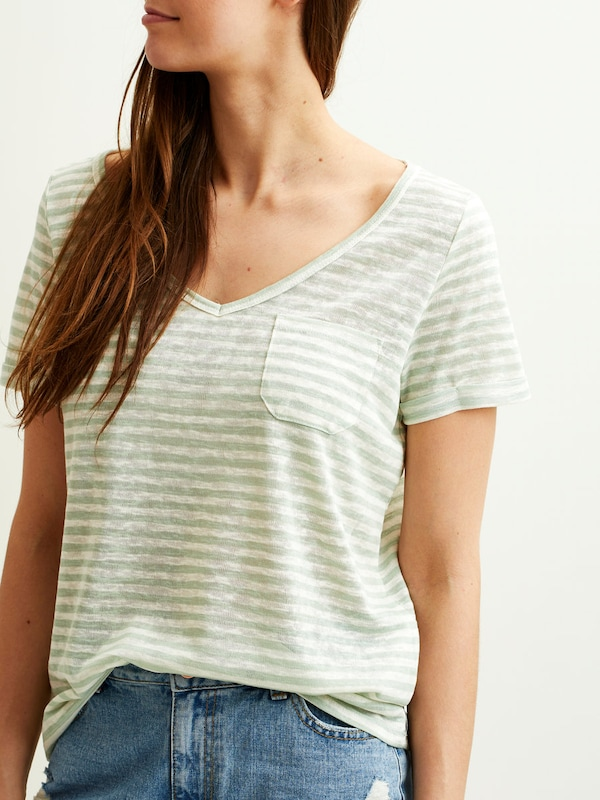 OBJECT Schlichtes T-Shirt