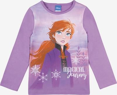DISNEY Shirt 'Die Eiskönigin' in lila / mischfarben, Produktansicht