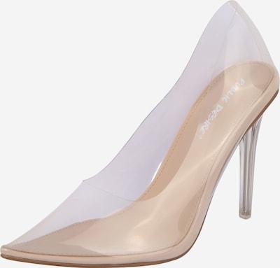 Public Desire Augstpapēžu kurpes 'DRANK' kails / caurspīdīgs, Preces skats