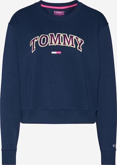 Tommy Jeans Sweatshirt ' Neon Outline ' in navy / grün / rot / weiß, Produktansicht