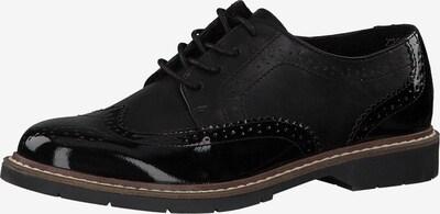 fekete s.Oliver Fűzős cipő, Termék nézet