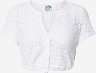 HAMMERSCHMID Bluzka ludowa 'Gerlinde' w kolorze białym, Podgląd produktu