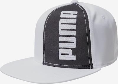 PUMA Cap 'Flatbrim II' in nachtblau / weiß, Produktansicht