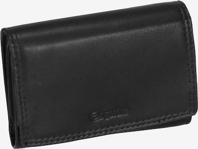 Esquire Geldbörse in schwarz, Produktansicht