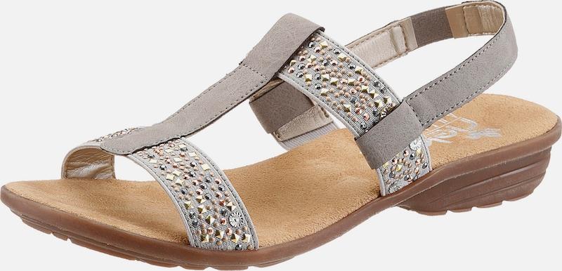 RIEKER Sandale mit Nietenbesatz